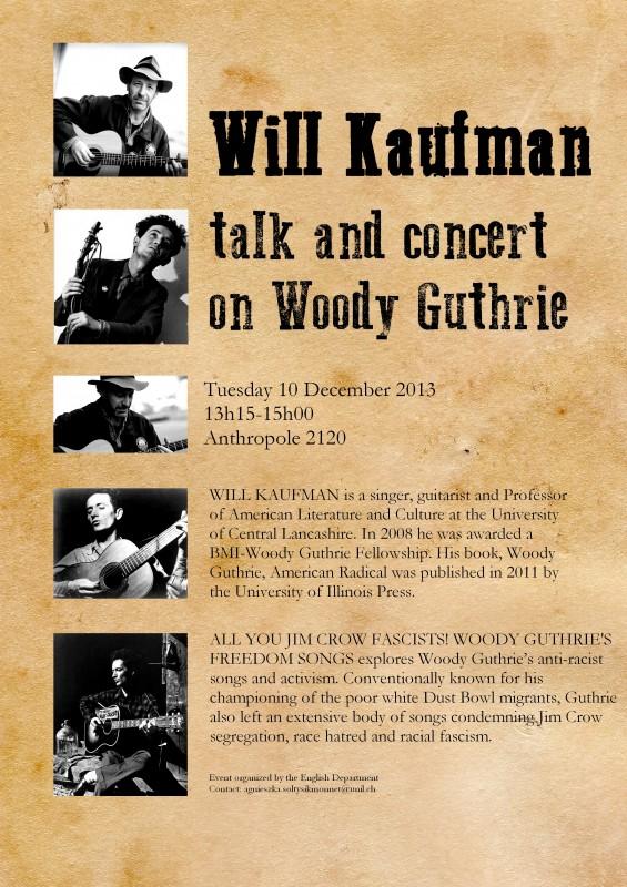 Will Kaufman, Talk & Concert [4]
