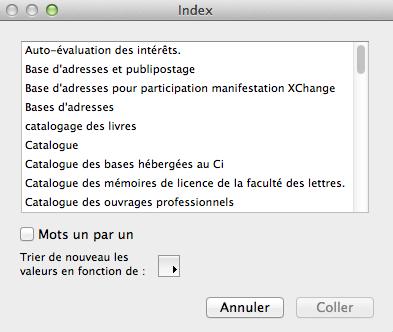 Indexvaleur