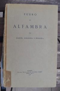Fuero de Alfambra, ed. de Albareda y Herrera