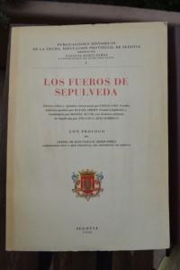 Fueros de Sepúlveda, ed. Sáez