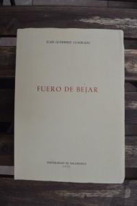 Fuero de Béjar, ed. Gutiérrez Cuadrado