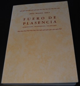 Fuero de Plasencia, ed. Majada Neila